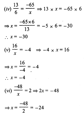 RS Aggarwal Class 7 Solutions Chapter 4 Rational Numbers Ex 4A 24
