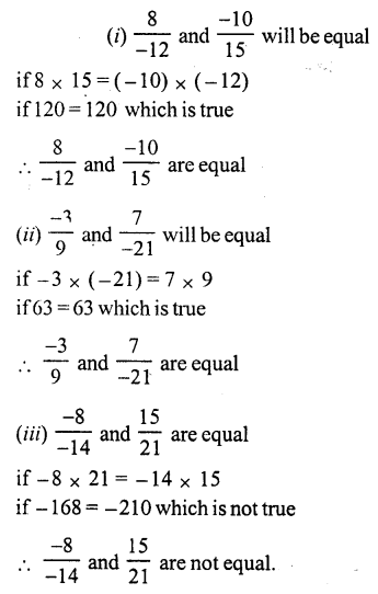 RS Aggarwal Class 7 Solutions Chapter 4 Rational Numbers Ex 4A 25