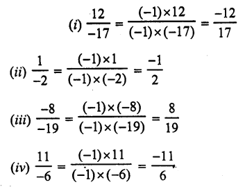 RS Aggarwal Class 7 Solutions Chapter 4 Rational Numbers Ex 4A 5
