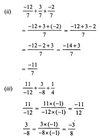 RS Aggarwal Class 7 Solutions Chapter 4 Rational Numbers Ex 4C 11