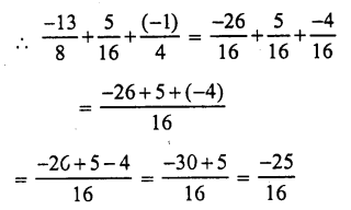 RS Aggarwal Class 7 Solutions Chapter 4 Rational Numbers Ex 4C 16