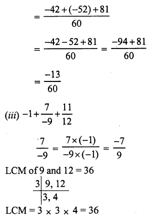 RS Aggarwal Class 7 Solutions Chapter 4 Rational Numbers Ex 4C 19