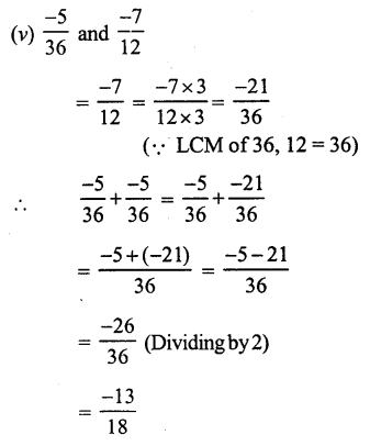 RS Aggarwal Class 7 Solutions Chapter 4 Rational Numbers Ex 4C 7