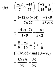 RS Aggarwal Class 7 Solutions Chapter 4 Rational Numbers Ex 4E 11