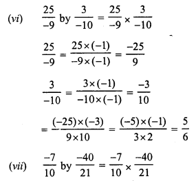RS Aggarwal Class 7 Solutions Chapter 4 Rational Numbers Ex 4E 2