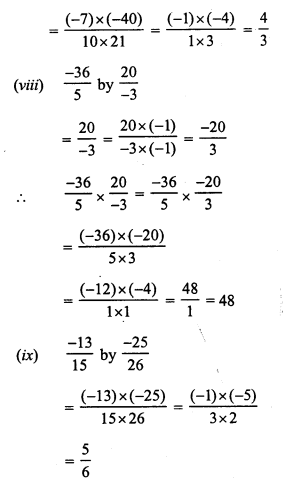 RS Aggarwal Class 7 Solutions Chapter 4 Rational Numbers Ex 4E 3