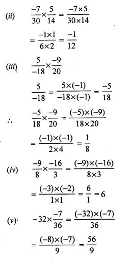 RS Aggarwal Class 7 Solutions Chapter 4 Rational Numbers Ex 4E 5