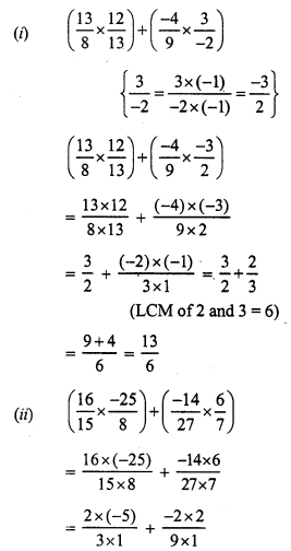 RS Aggarwal Class 7 Solutions Chapter 4 Rational Numbers Ex 4E 9