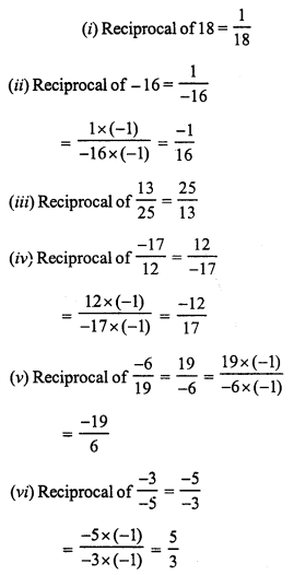 RS Aggarwal Class 7 Solutions Chapter 4 Rational Numbers Ex 4F 1