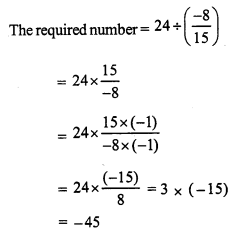 RS Aggarwal Class 7 Solutions Chapter 4 Rational Numbers Ex 4F 11