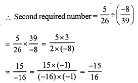 RS Aggarwal Class 7 Solutions Chapter 4 Rational Numbers Ex 4F 16