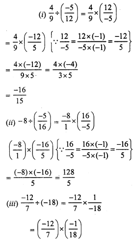 RS Aggarwal Class 7 Solutions Chapter 4 Rational Numbers Ex 4F 2