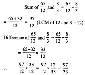 RS Aggarwal Class 7 Solutions Chapter 4 Rational Numbers Ex 4F 8