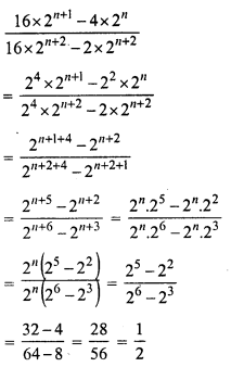 RS Aggarwal Class 7 Solutions Chapter 5 Exponents Ex 5A 26