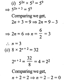 RS Aggarwal Class 7 Solutions Chapter 5 Exponents Ex 5A 27