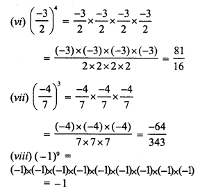 RS Aggarwal Class 7 Solutions Chapter 5 Exponents Ex 5A 5