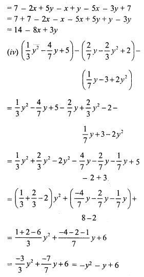 RS Aggarwal Class 7 Solutions Chapter 6 Algebraic Expressions Ex 6A 11
