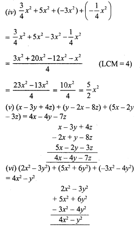 RS Aggarwal Class 7 Solutions Chapter 6 Algebraic Expressions Ex 6A 2