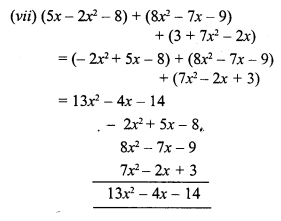 RS Aggarwal Class 7 Solutions Chapter 6 Algebraic Expressions Ex 6A 3