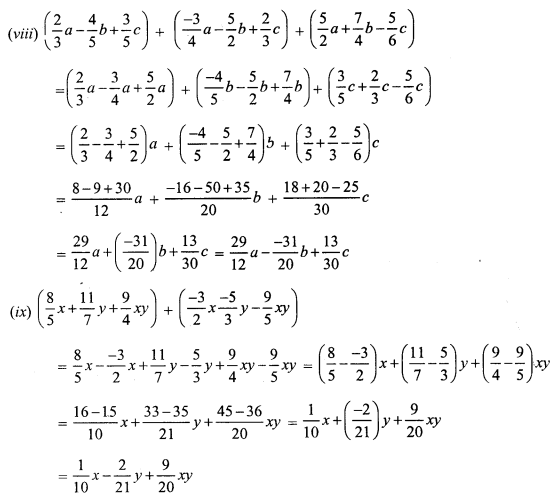 RS Aggarwal Class 7 Solutions Chapter 6 Algebraic Expressions Ex 6A 4