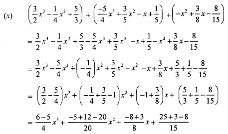 RS Aggarwal Class 7 Solutions Chapter 6 Algebraic Expressions Ex 6A 5