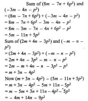 RS Aggarwal Class 7 Solutions Chapter 6 Algebraic Expressions Ex 6A 9
