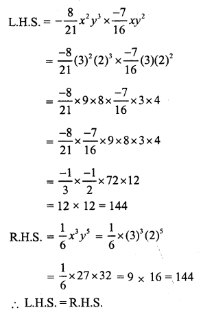 RS Aggarwal Class 7 Solutions Chapter 6 Algebraic Expressions Ex 6B 19