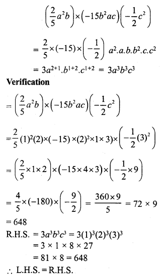 RS Aggarwal Class 7 Solutions Chapter 6 Algebraic Expressions Ex 6B 23