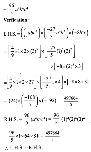RS Aggarwal Class 7 Solutions Chapter 6 Algebraic Expressions Ex 6B 28