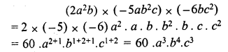 RS Aggarwal Class 7 Solutions Chapter 6 Algebraic Expressions Ex 6B 9