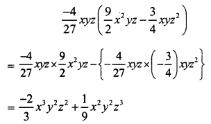 RS Aggarwal Class 7 Solutions Chapter 6 Algebraic Expressions Ex 6C 3