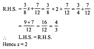 RS Aggarwal Class 7 Solutions Chapter 7 Linear Equations in One Variable Ex 7A 10