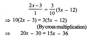 RS Aggarwal Class 7 Solutions Chapter 7 Linear Equations in One Variable Ex 7A 12