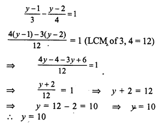 RS Aggarwal Class 7 Solutions Chapter 7 Linear Equations in One Variable Ex 7A 14