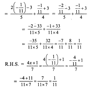 RS Aggarwal Class 7 Solutions Chapter 7 Linear Equations in One Variable Ex 7A 24