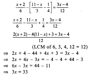 RS Aggarwal Class 7 Solutions Chapter 7 Linear Equations in One Variable Ex 7A 27