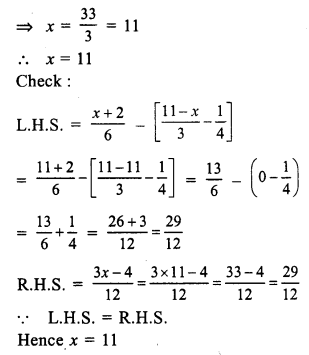 RS Aggarwal Class 7 Solutions Chapter 7 Linear Equations in One Variable Ex 7A 28