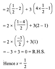 RS Aggarwal Class 7 Solutions Chapter 7 Linear Equations in One Variable Ex 7A 3