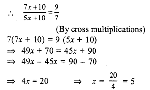 RS Aggarwal Class 7 Solutions Chapter 7 Linear Equations in One Variable Ex 7B 12