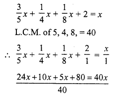 RS Aggarwal Class 7 Solutions Chapter 7 Linear Equations in One Variable Ex 7B 14