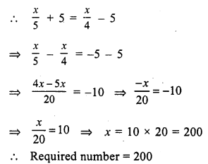 RS Aggarwal Class 7 Solutions Chapter 7 Linear Equations in One Variable Ex 7B 9