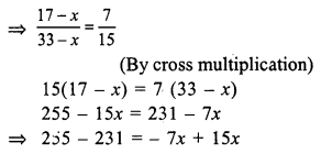 RS Aggarwal Class 7 Solutions Chapter 8 Ratio and Proportion Ex 8A 10