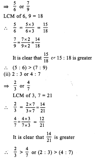 RS Aggarwal Class 7 Solutions Chapter 8 Ratio and Proportion Ex 8A 16