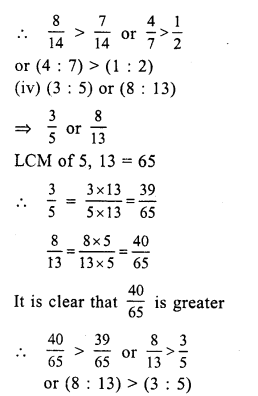 RS Aggarwal Class 7 Solutions Chapter 8 Ratio and Proportion Ex 8A 18