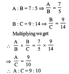 RS Aggarwal Class 7 Solutions Chapter 8 Ratio and Proportion Ex 8A 2