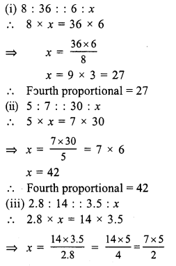 RS Aggarwal Class 7 Solutions Chapter 8 Ratio and Proportion Ex 8B 1
