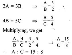 RS Aggarwal Class 7 Solutions Chapter 8 Ratio and Proportion Ex 8C 3