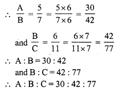 RS Aggarwal Class 7 Solutions Chapter 8 Ratio and Proportion Ex 8C 6