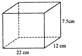 RS Aggarwal Class 8 Solutions Chapter 20 Volume and Surface Area of Solids Ex 20A 1.1