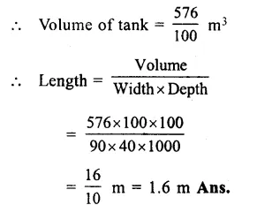 RS Aggarwal Class 8 Solutions Chapter 20 Volume and Surface Area of Solids Ex 20A 16.1